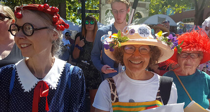 Meet the Raging Grannies, Portland's not-so-secret warriors for civility